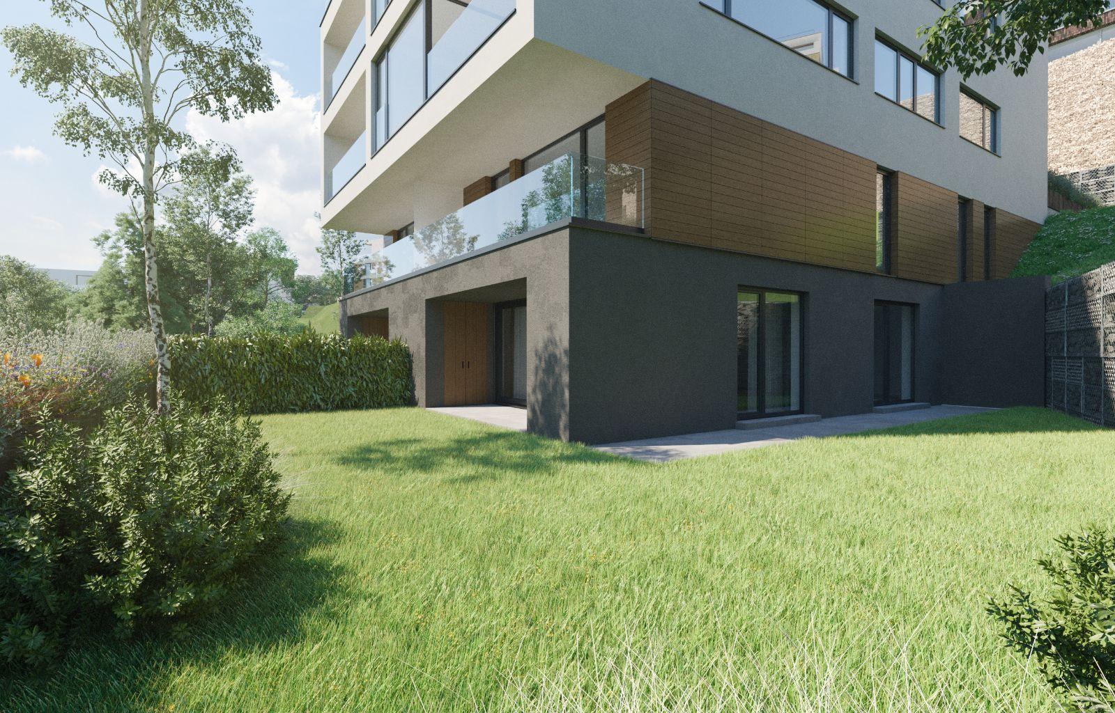 apartamente cu grădină - Stejeriș Brașov