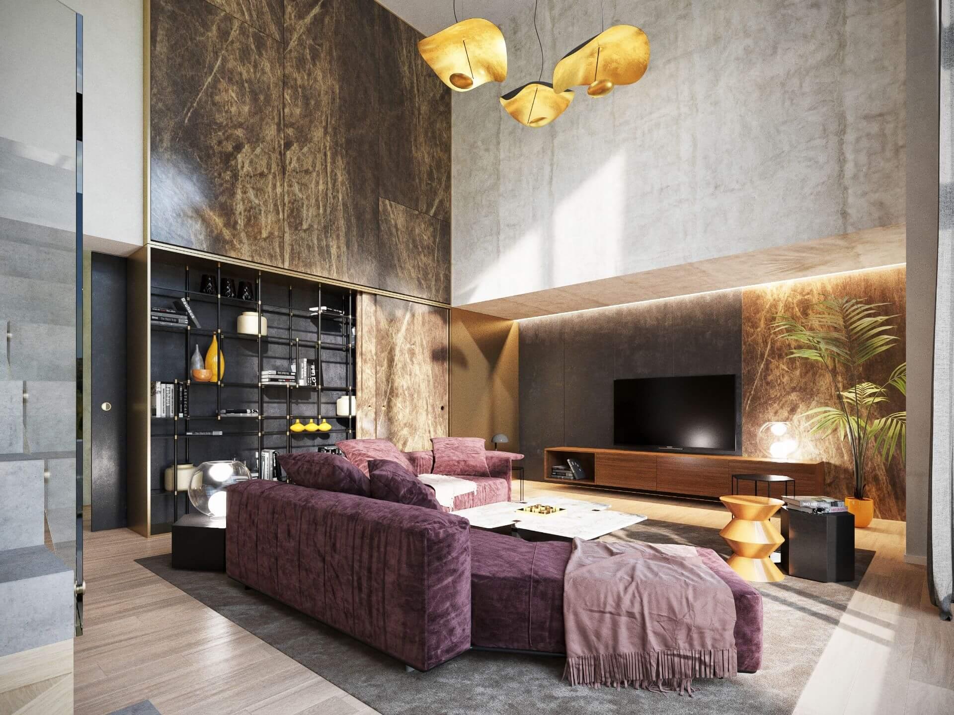 Penthouse 2 niveluri - Stejeriș Brașov
