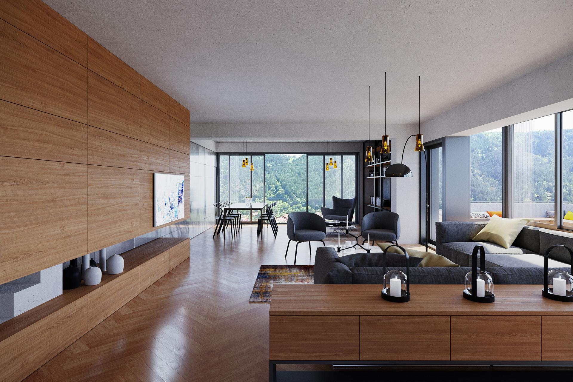 Duplex cu terasa