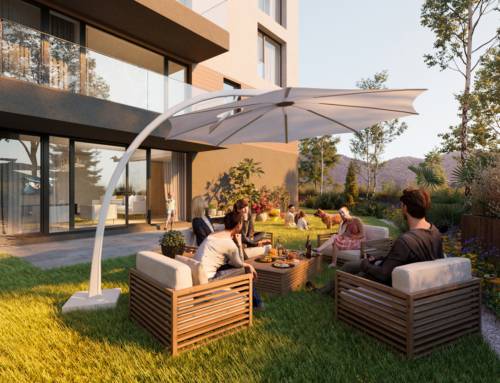 Apartment with private garden