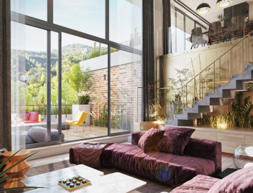 2 level Penthouse
